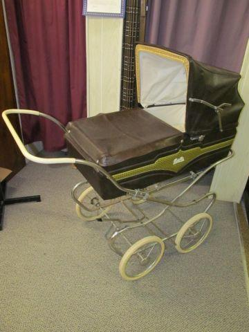 Antique 1940 S 50 S Bilt Rite Baby Carriage Buggy Stroller