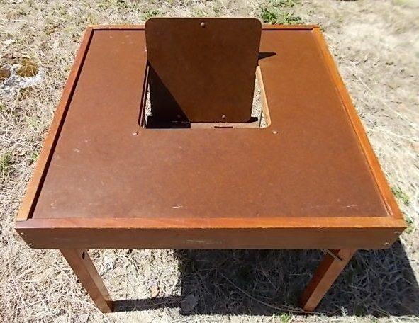 Antique 1940's Childs Play Table BABEE TENDA CHAIR - Antique 1940's Childs Play Table BABEE TENDA CHAIR For Sale In