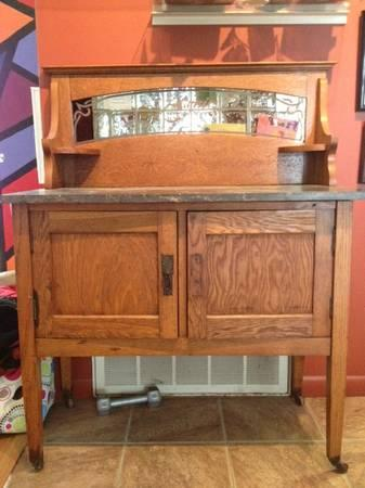 antique 2 door server - $395