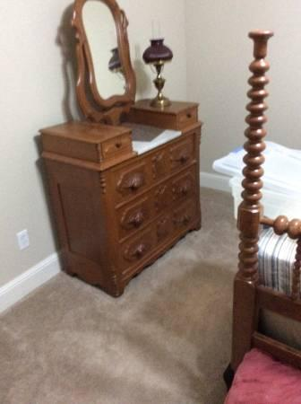 Antique 4 Piece Bedroom Suite Late 1800 S Victorian