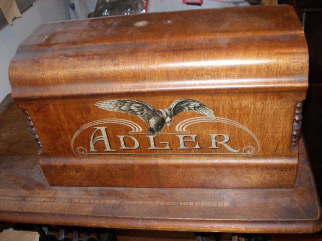 antique adler treadle machine german sold by j klein. Black Bedroom Furniture Sets. Home Design Ideas