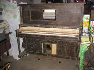 Antique Andrew Kohler Upright Player Piano - 1920's -