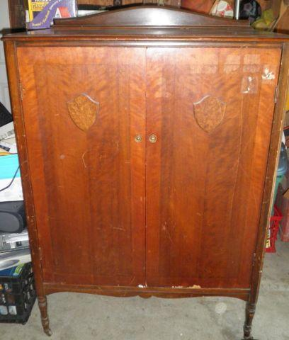 antique armoire nice condition for sale in newburgh new. Black Bedroom Furniture Sets. Home Design Ideas