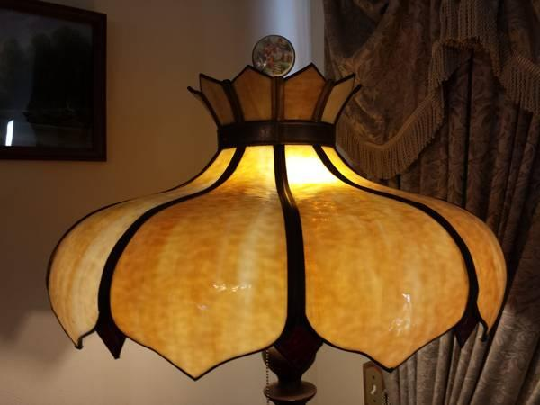 28+ [ Vintage Glass Lamp Shades For Sale ] | Vintage Lemon Yellow ...