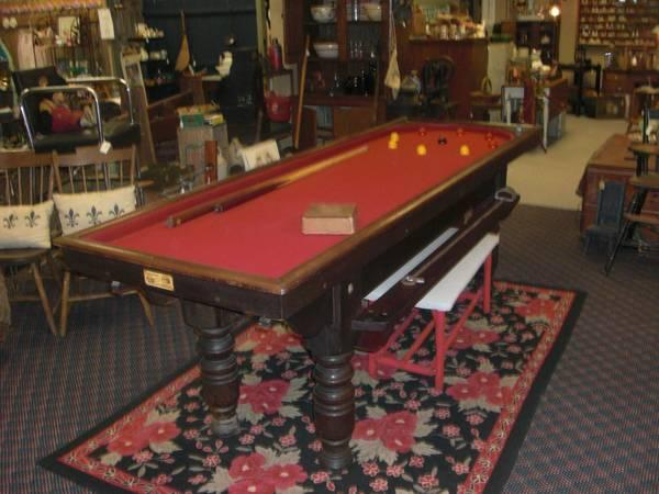 Antique Ashcroft Bagatelle Table from Liverpool - $1100
