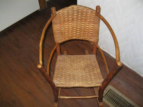 Antique Baby Rocking Chair. Made In Indiana for sale in Seguin, Texas - Antique Baby Rocking Chair. Made In Indiana. For Sale In Seguin