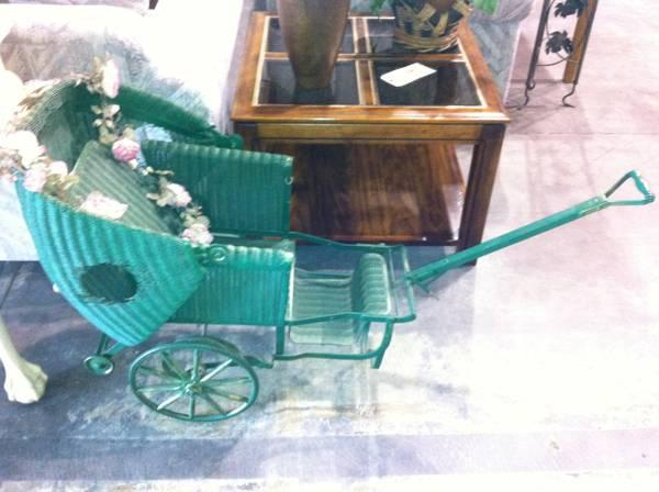 Antique Baby Stroller - $80