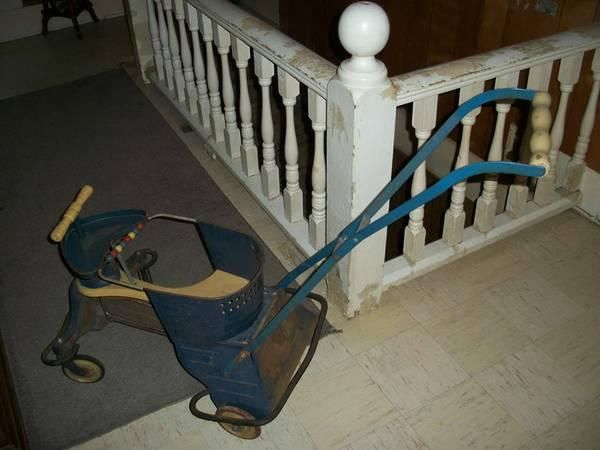 Antique Baby Stroller Walker - $75