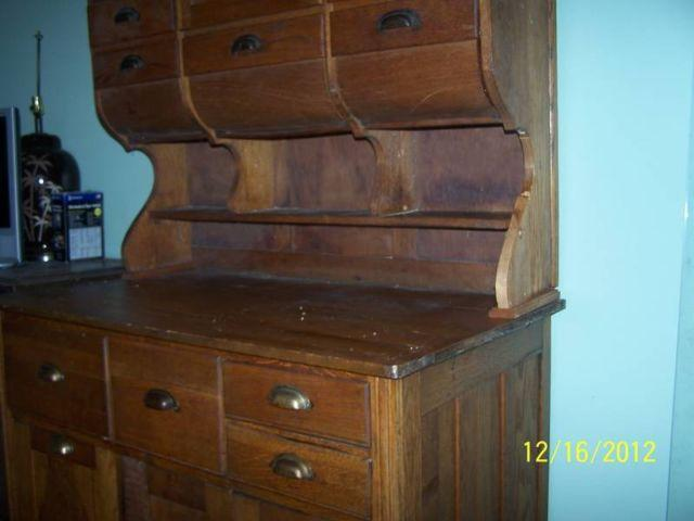 Antique Bakers Pantry Cabinet For Sale In Caledonia Michigan Classified