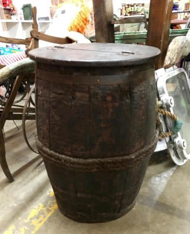 Antique Barrel Box