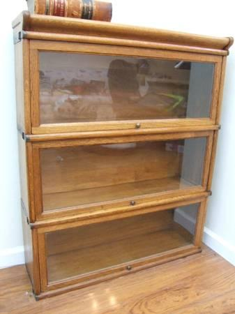 Antique Barrister Bookcase For Sale In Pacifica California