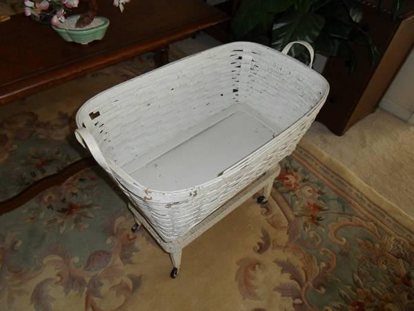 Antique Bassinet - $49