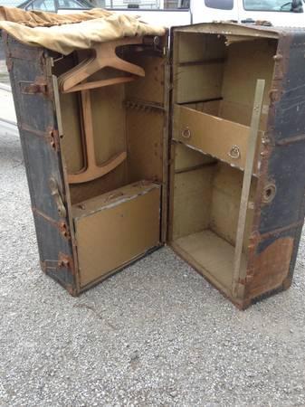 Antique Steamer Trunk Restoration