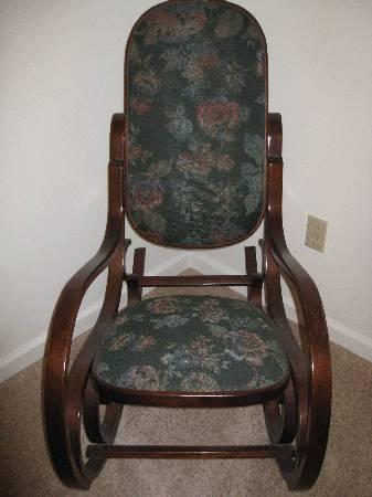 Antique Bentwood Rocking Chair   $60