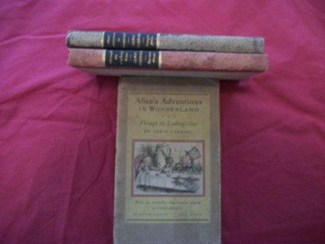 Antique Books,Alice in Wonderland Boxed Set, fully