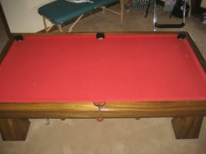 Antique Brunswick Pool Table North Asheville For Sale