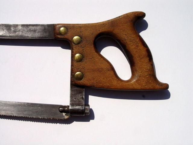 Antique Butchers Meat Saw -- D B Swannie  Co, Buffalo, N.Y.