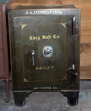 Antique Cary Safe With Combination Amp Keys Cary Safe Co