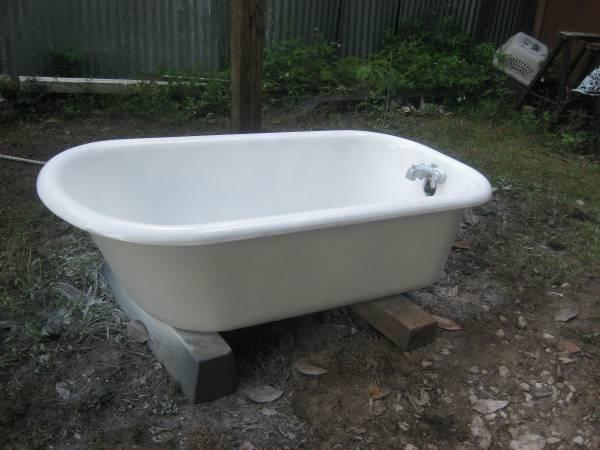 Antique Cast Iron Claw Foot Tub For Sale In Madison