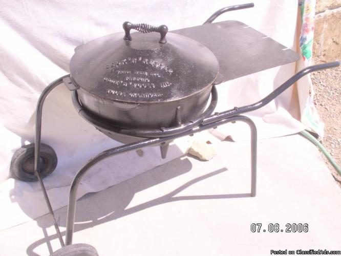 antique cast iron pot barbeque grill billings for sale in billings montana classified. Black Bedroom Furniture Sets. Home Design Ideas