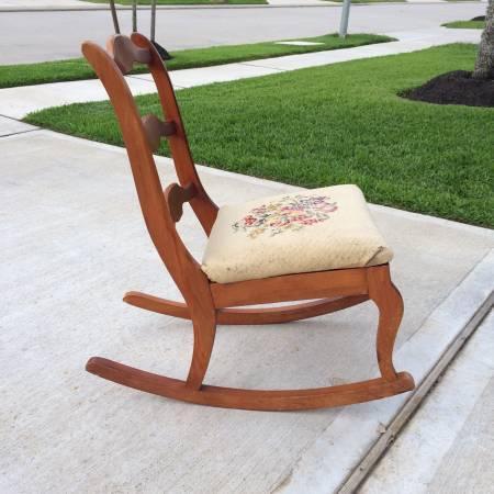 Antique Child Rocking Chair   $30