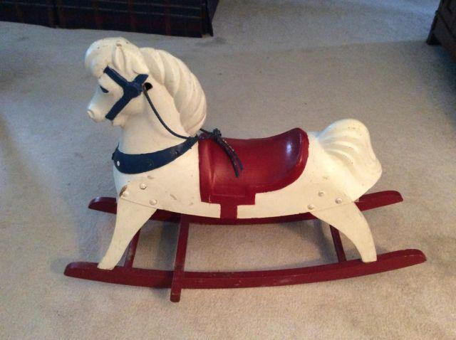 Antique Childs Rocking Horse