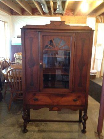 Cherry Curio Cabinet New And Used Furniture For Sale In Winchester