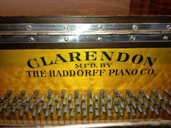 Antique Clarendon Upright Piano For Sale In Prosser Washington