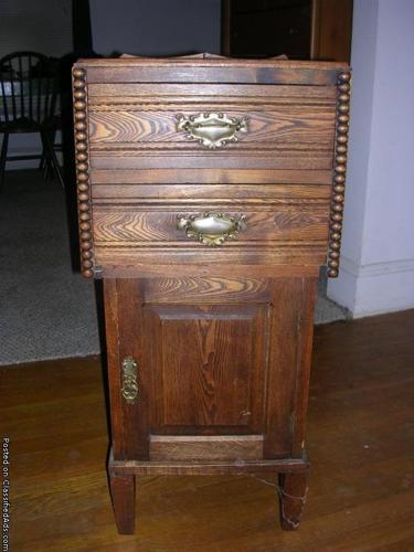 Antique Commode Cabinet