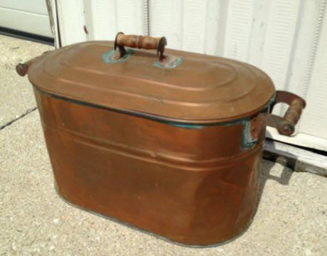 antique copper wash tub Art and antiques for sale in Muncie, Indiana classifieds buy and  antique copper wash tub