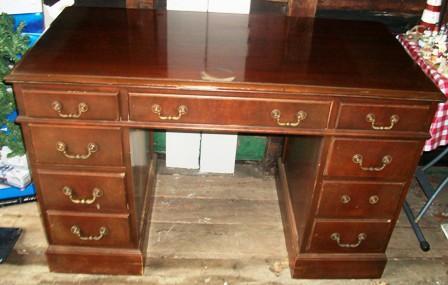 Antique Desk U0026 Antique Wardrobe Closet