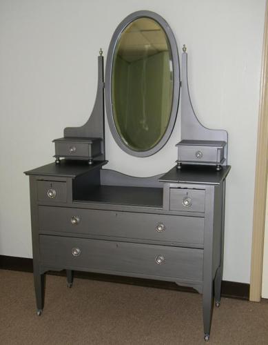 Foyer Table Houston : Antique dresser vanity foyer table katy west houston