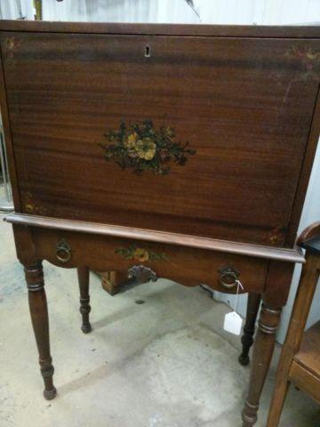 Antique Drop Front Writing Desk For Sale In Skiatook