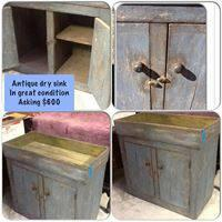 Antique Dry Sink For Sale In Beaumont Texas Classified