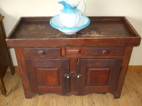 Antique Dry Sink Very Old Ornate For Sale In Coldwater