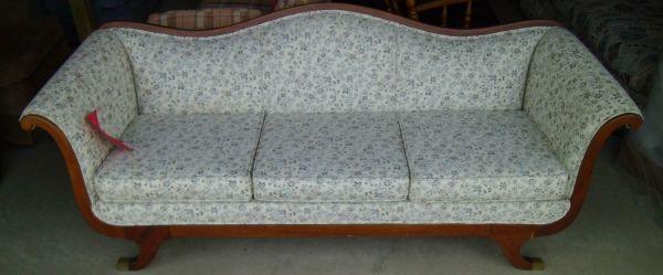 Antique Duncan Phyfe Sofa Mint Condition Lowes Bargain