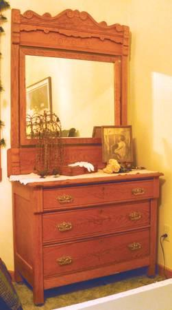 Antique Quot Eastlake Quot Oak Dresser For Sale In Metamora