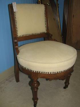 Antique Eastlake Sewing Chair