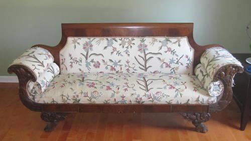Antique Empire Sofa For Sale In Jeffersonville Pennsylvania