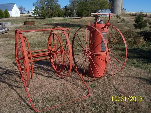 Antique Fire Fighting Equipment