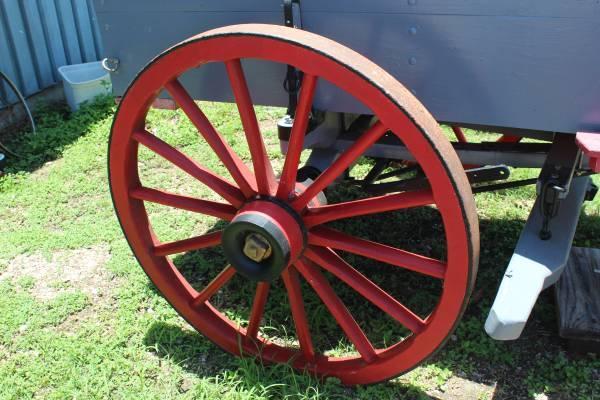 Antique Freight Wagon - $2500