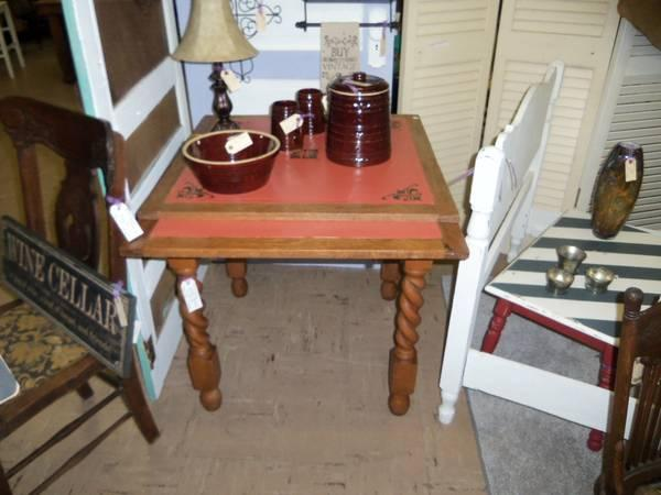 Antique Game Table - $175