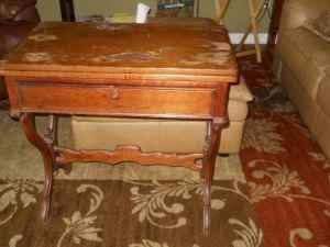 antique game table - $200 lexington