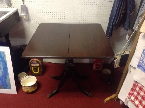 Antique game table - $99
