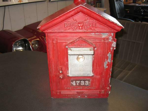 Antique Gamewell Fire Alarm Pull Station For Sale In