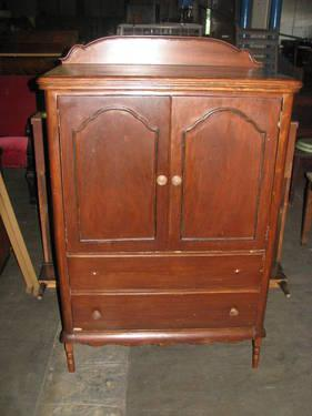 Antique Gentleman S Chest Armoire With Front Doors 2 Outer