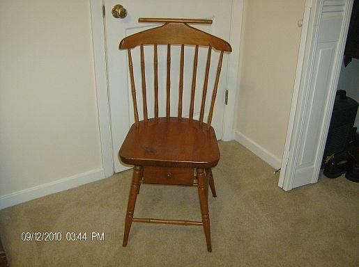 Antique Gentleman's Dressing Chair - Oak - $75 (Canton, - Antique Gentleman's Dressing Chair - Oak - (Canton, MS) For Sale In