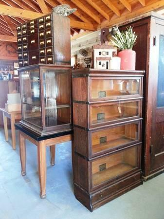 Antique Globe Wernicke Barrister Bookcase For Sale In