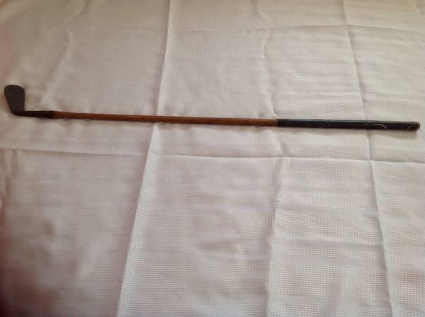 Antique golf club - $75