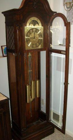 Antique Grandfather Clock 1920 S Vintage Herschede Price